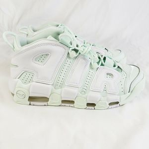 Nike Air More Uptempo Barely Green Sneakers